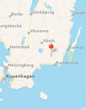 play your rout to our holiday homes in sweden